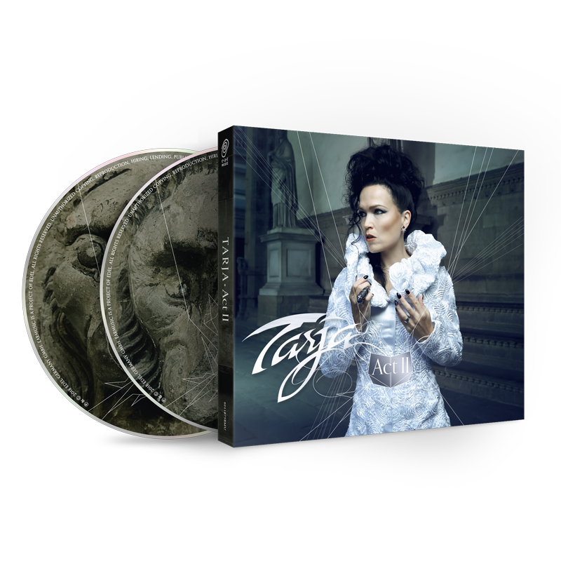 Buy Online Tarja - Act II Digipak Special Version With Signed Booklet