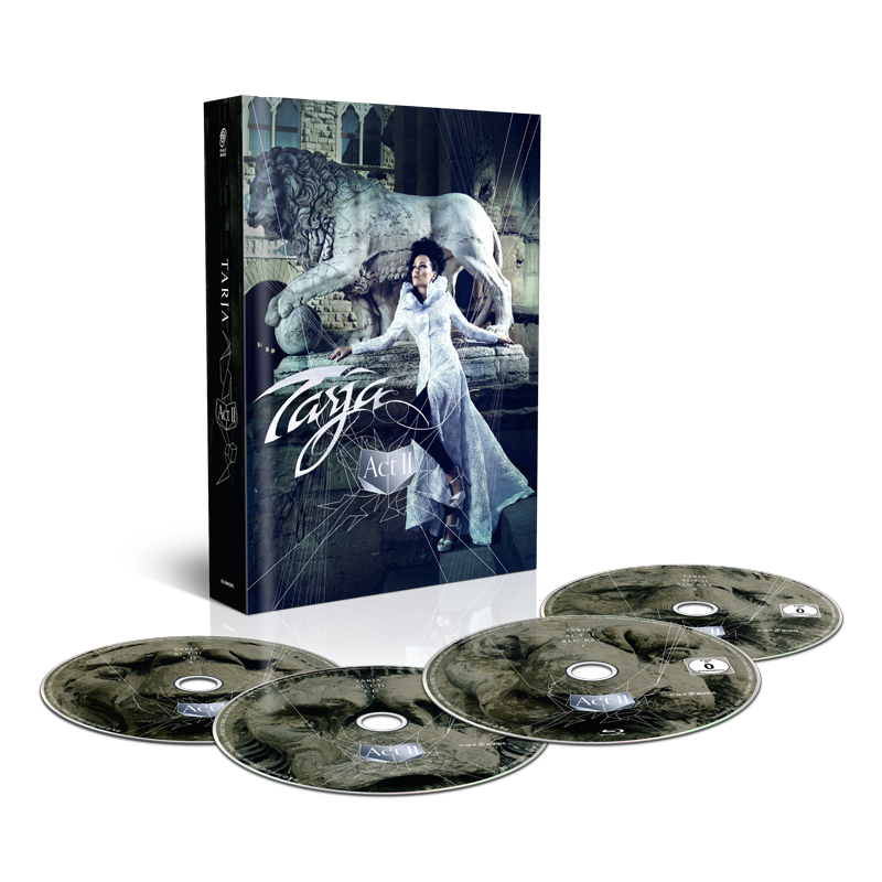 Buy Online Tarja - Act II 2 CD + 2 Blu-Ray Mediabook