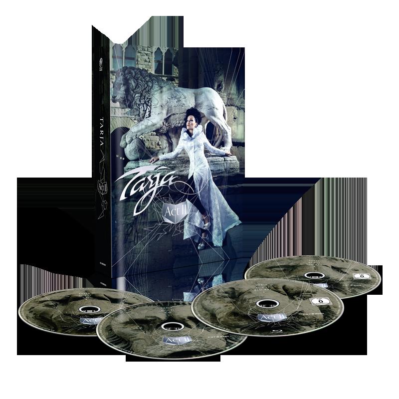 Buy Online Tarja - Act II 2 CD + 2 Blu-Ray Mediabook