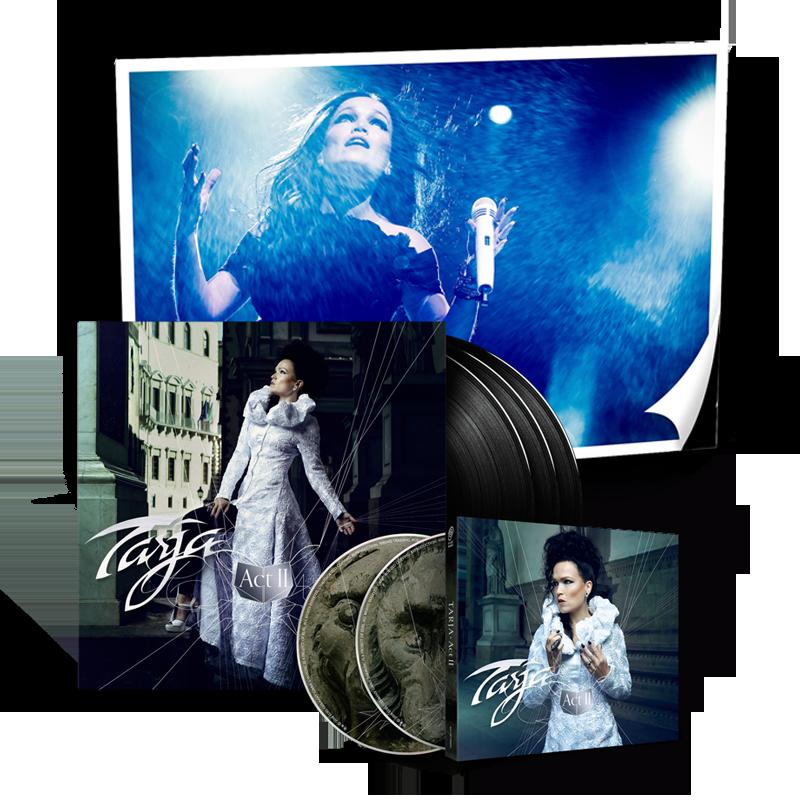 Buy Online Tarja - Act II 3LP Vinyl w/ Download Code + Signed Milan Poster + 2CD Digipak