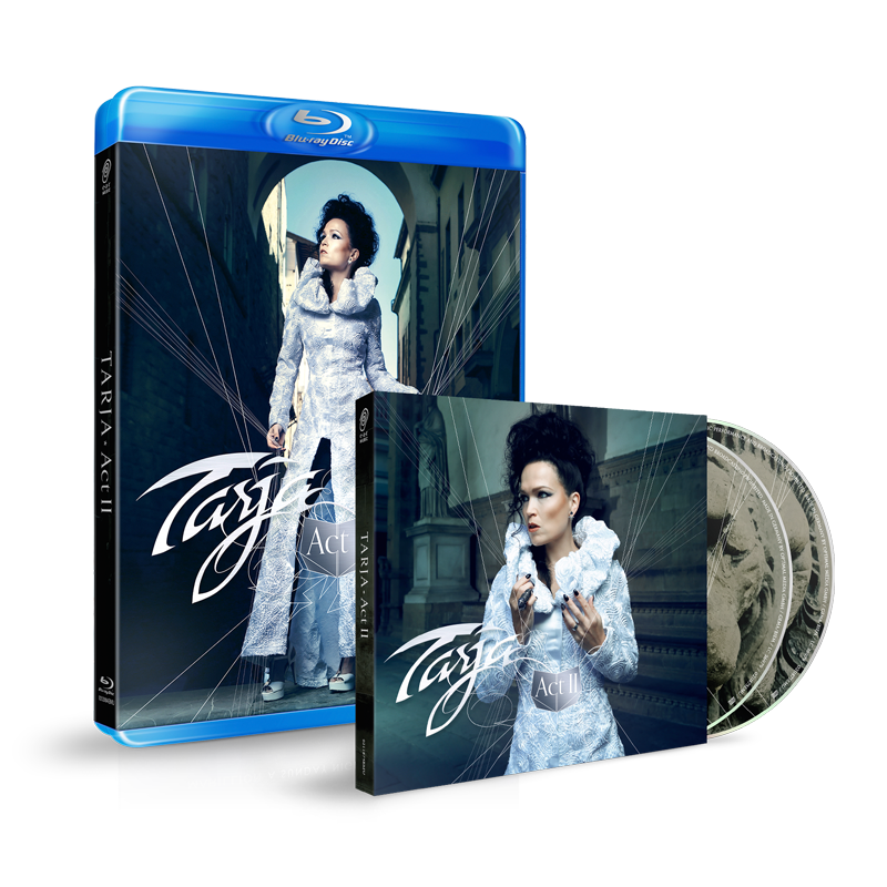 Buy Online Tarja - Act II 2CD Digipak + Blu-Ray Mediabook CD Collector's Pack