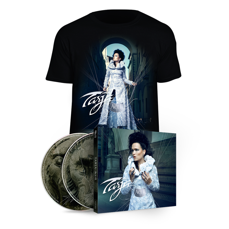 Buy Online Tarja - Act II 2CD Digipak + T-Shirt