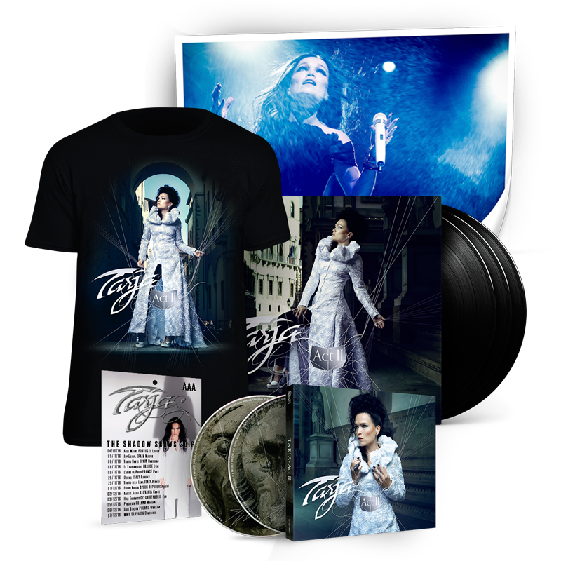 Buy Online Tarja - Act II Deluxe Bundle