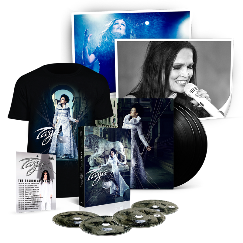 Buy Online Tarja - Act II Super Deluxe Bundle
