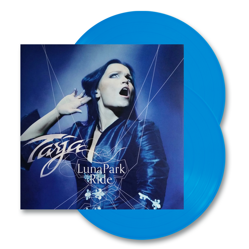 Buy Online Tarja - Luna Park Ride 2LP Blue Vinyl Live Album
