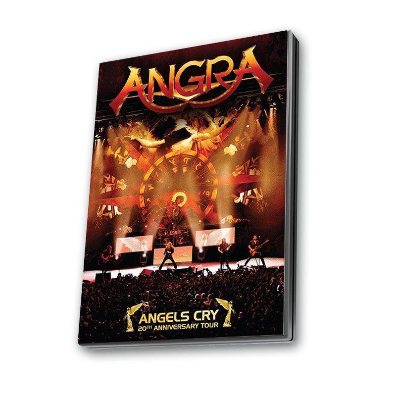 Buy Online Angra - Angel's Cry 20th Anniversary Tour DVD Live Album (Argentinian Edition)