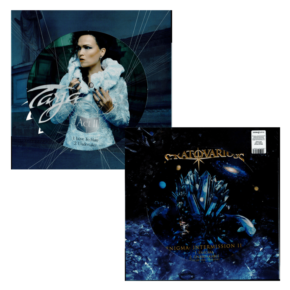 Buy Online Tarja & Stratovarius - Enigma / Act II Picture Disc