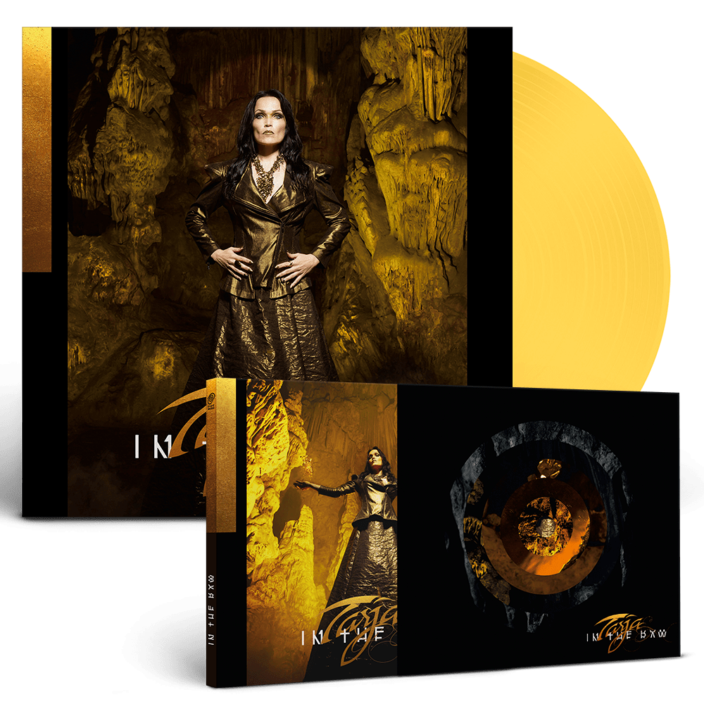 Buy Online Tarja - In The Raw Limited O-Card Box Digipack CD + Exclusive Gatefold Coloured Double Vinyl