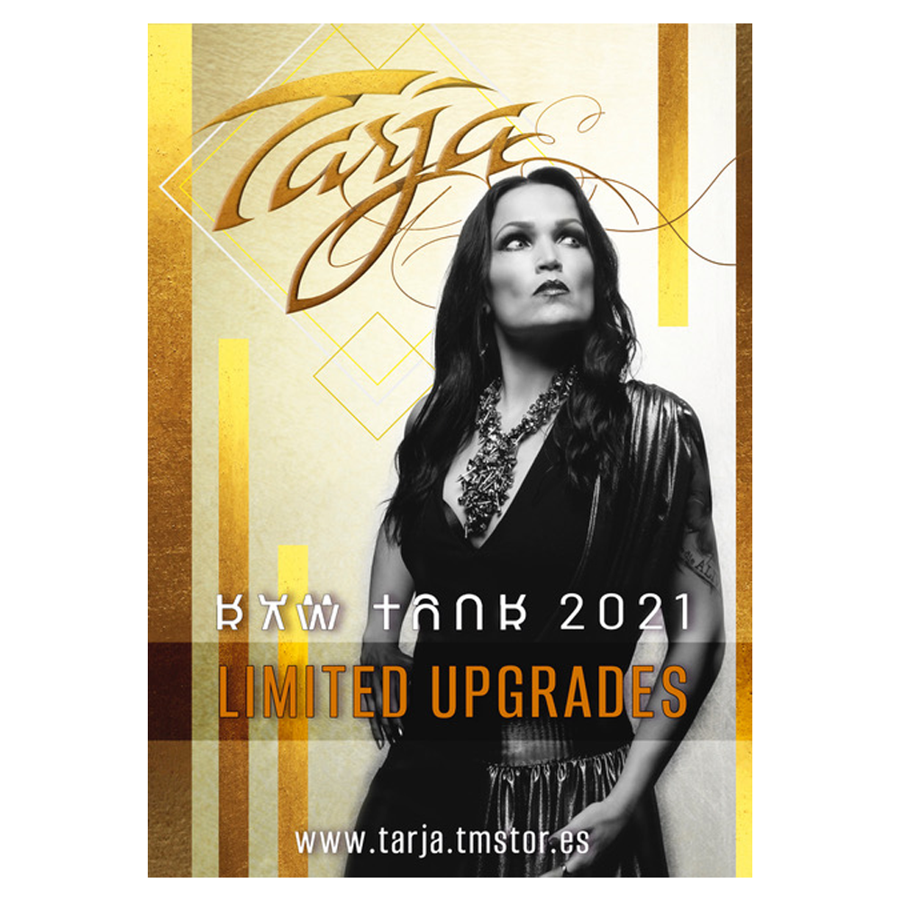 Buy Online Tarja - Raw Tour 2021/2022- Limited Upgrades