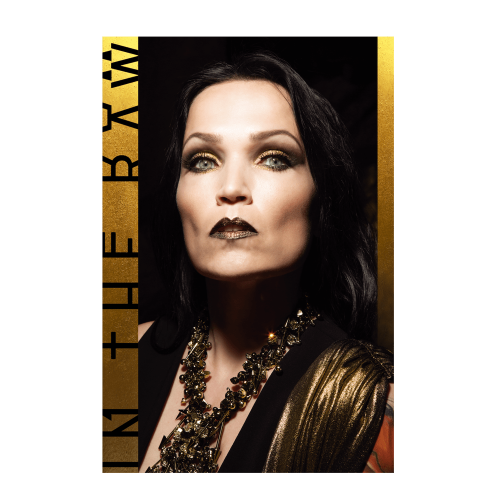 Buy Online Tarja - In The Raw Large Flag (Portrait)<br>(Signed by Tarja)