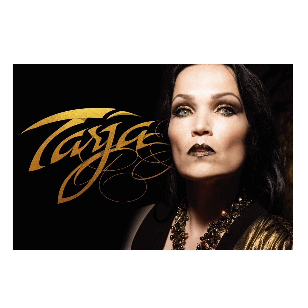 Buy Online Tarja - In The Raw Large Flag (Landscape)<br>(Signed by Tarja)