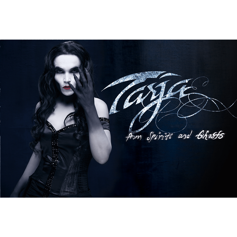Buy Online Tarja - From Spirits and Ghosts Black Flag Horizontal (Signed)