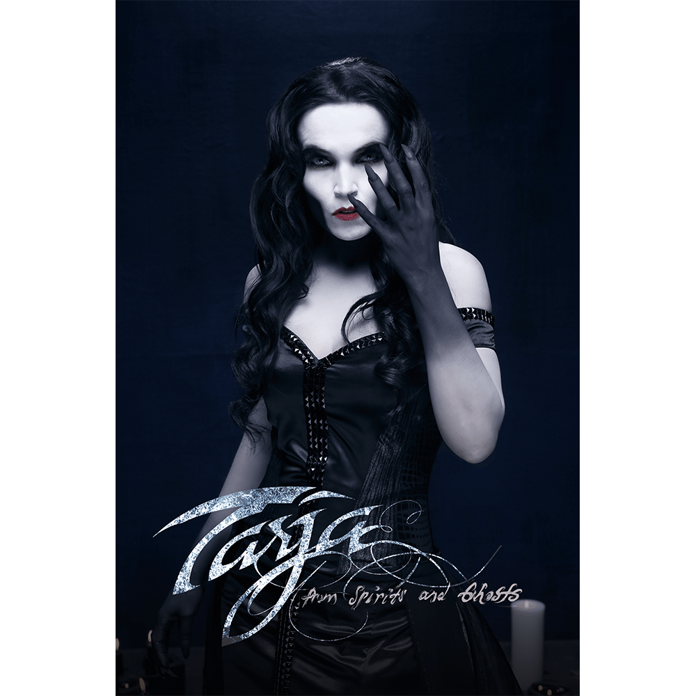 Buy Online Tarja - From Spirits and Ghosts Black Flag Portrait (Signed)