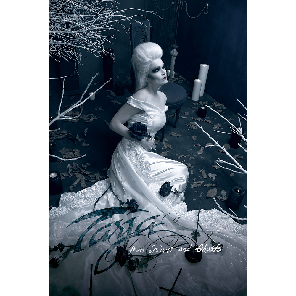 Buy Online Tarja - From Spirits and Ghosts White Flag Portrait (Signed)