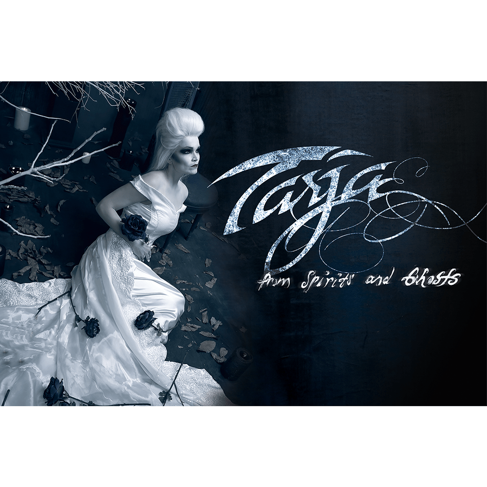 Buy Online Tarja - From Spirits and Ghosts White Flag Horizontal - Large (Signed)