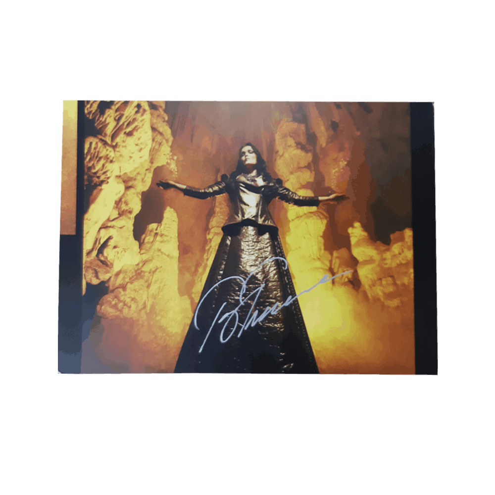 Buy Online Tarja - In the Raw Postcard (Signed)