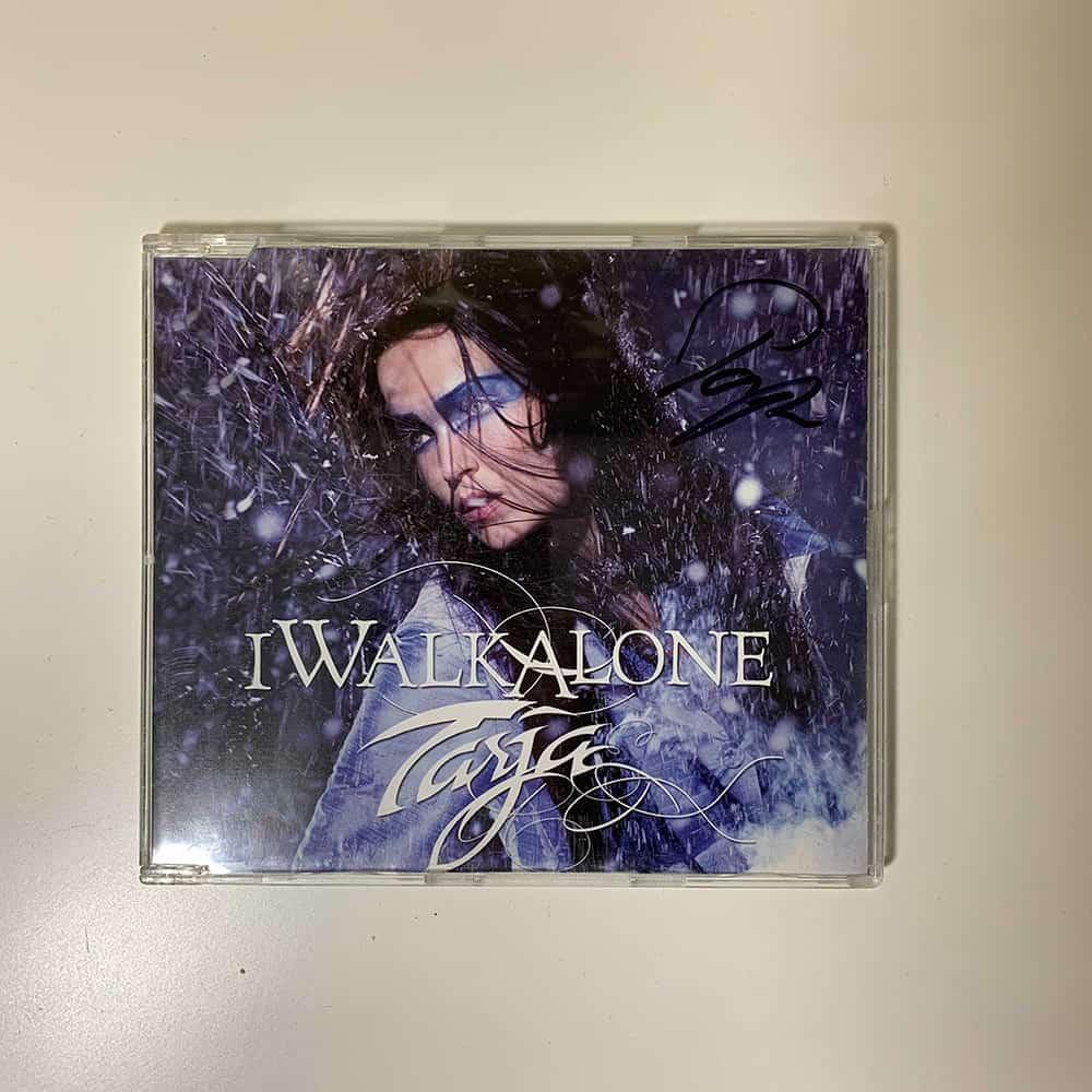 Buy Online Tarja - I Walk Alone Jewelcase Single CD (Signed)
