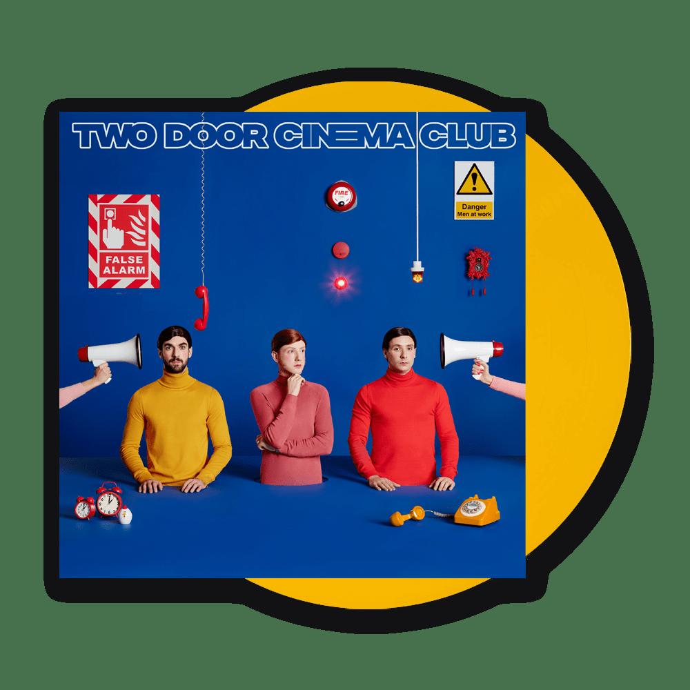 Buy Online Two Door Cinema Club - False Alarm Yellow (Signed)