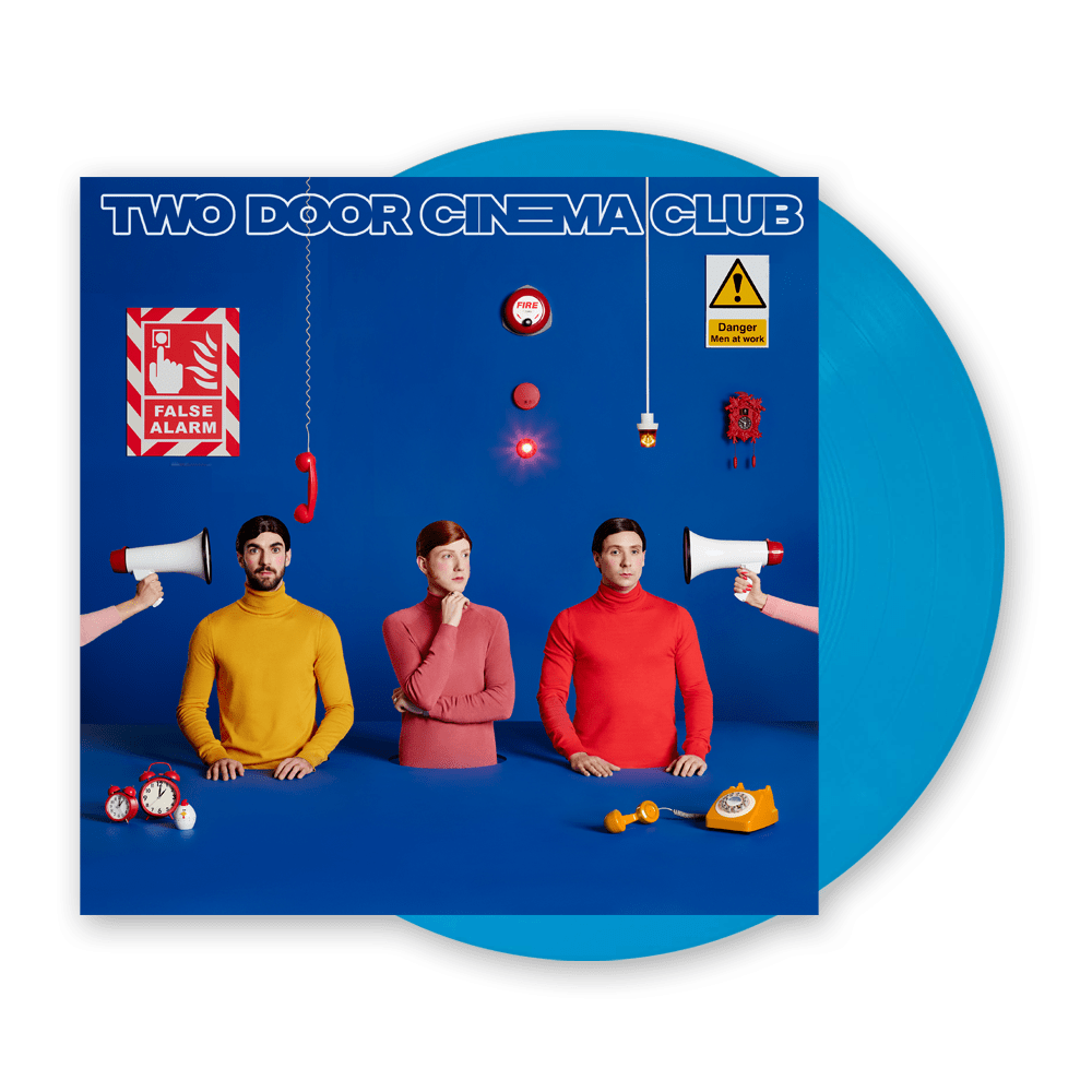 Buy Online Two Door Cinema Club - False Alarm Blue