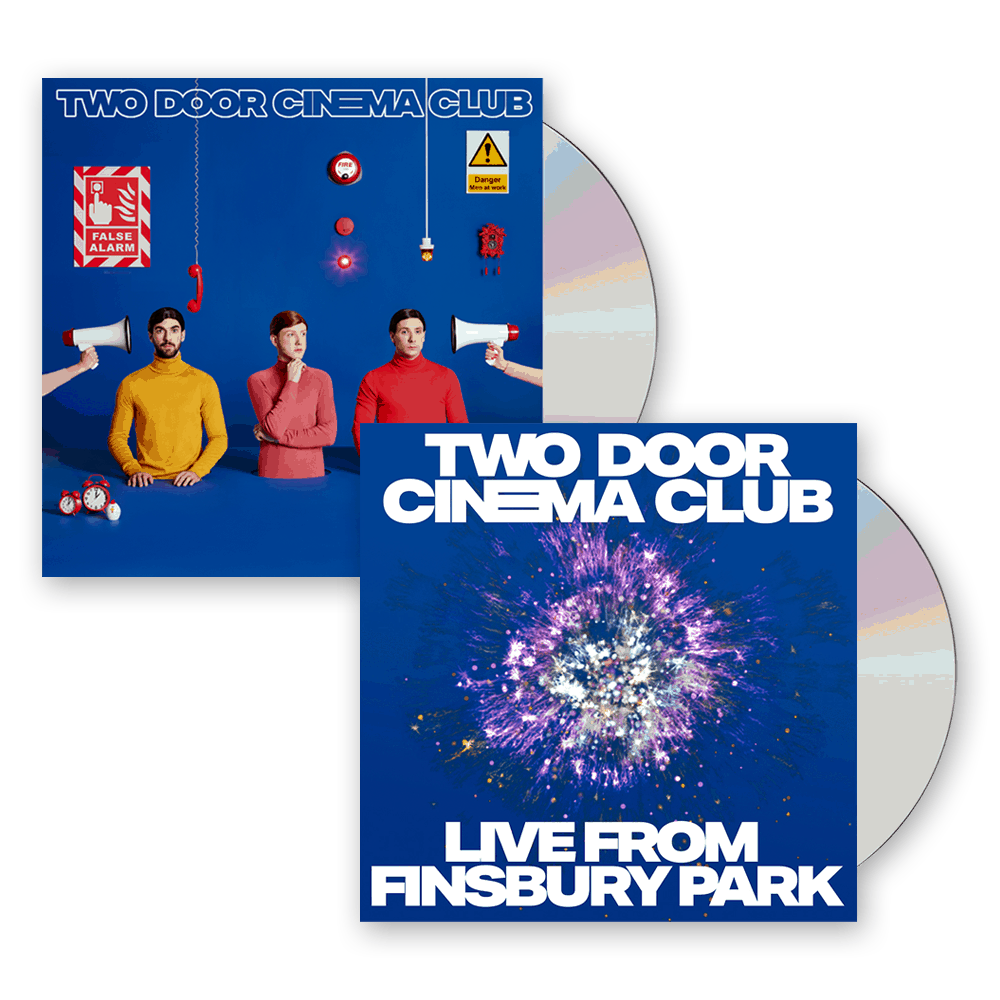 Buy Online Two Door Cinema Club - False Alarm CD + Live From Finsbury Park Bonus CD