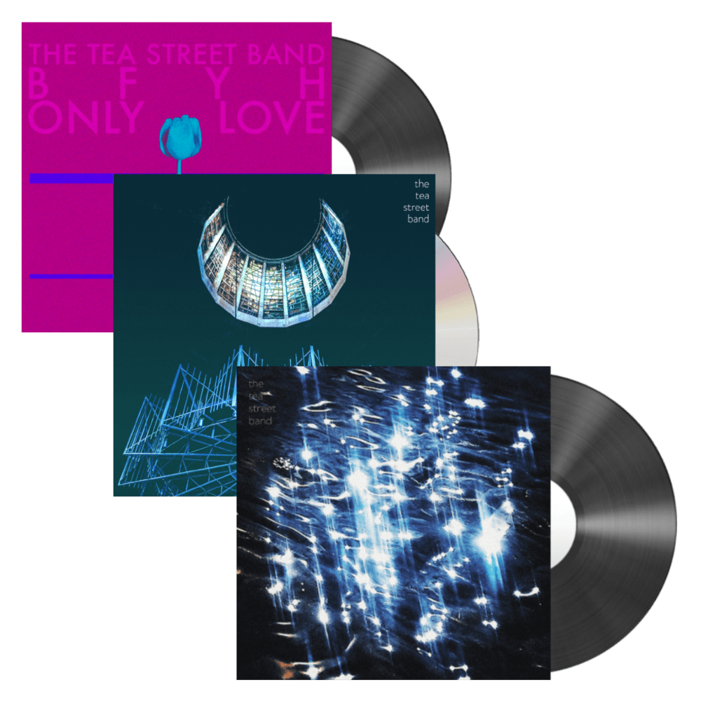 Buy Online Tea Street Band - Frequency CD + BFYH 7-Inch + Disco Lights 7-Inch