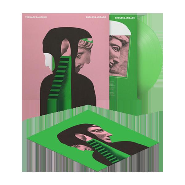 Buy Online Teenage Fanclub - Endless Arcade Translucent Green + 12 x 12 Inch Print (Signed)