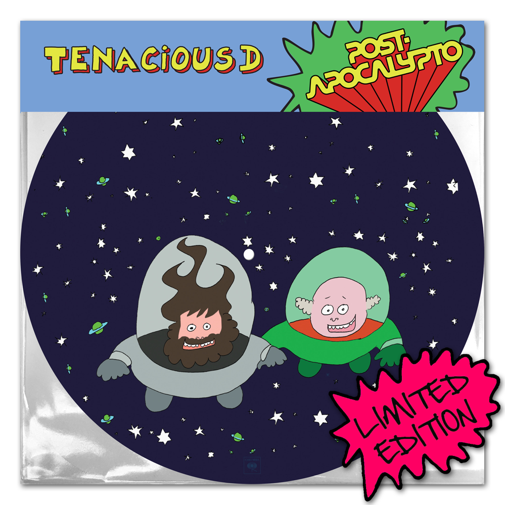 Buy Online Tenacious D - Post-Apocalypto Picture Disc