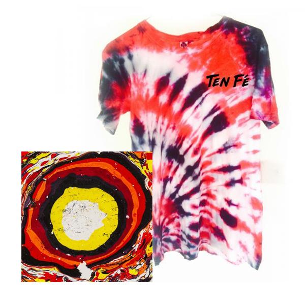 Buy Online Ten Fe - Hit The Light Double Vinyl Album (Signed) + Tee