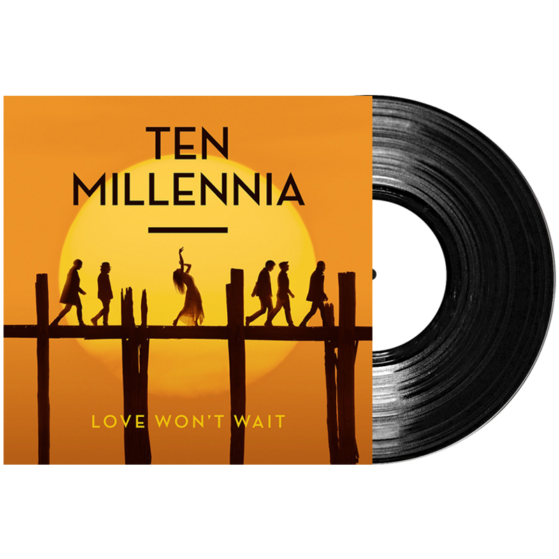 Buy Online Ten Millennia - Love Won't Wait Vinyl Album