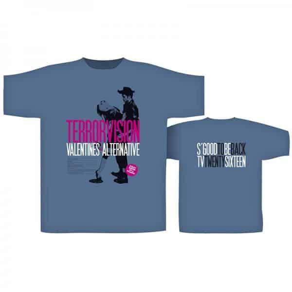 Buy Online Terrorvision - Bingley Blue T-Shirt