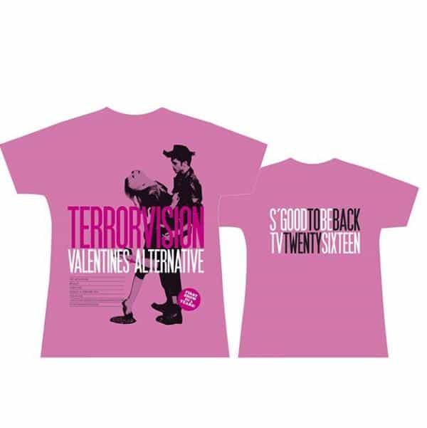 Buy Online Terrorvision - Bingley Pink T-Shirt