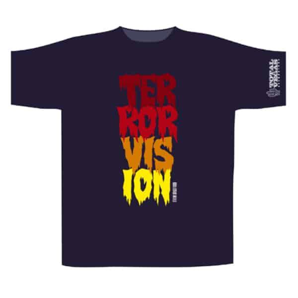 Buy Online Terrorvision - Vertical Logo T-Shirt
