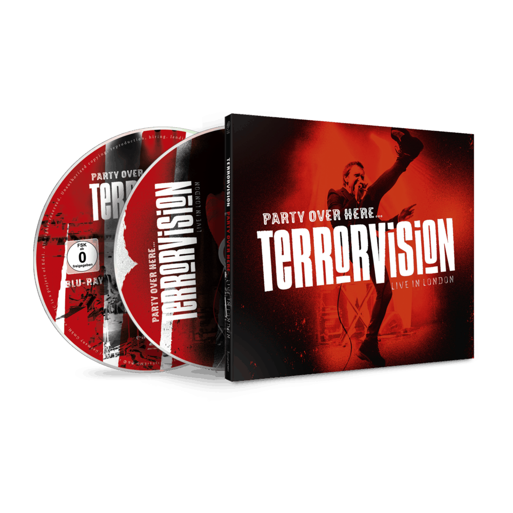 Buy Online Terrorvision - Party Over Here... Live In London CD + Blu-Ray