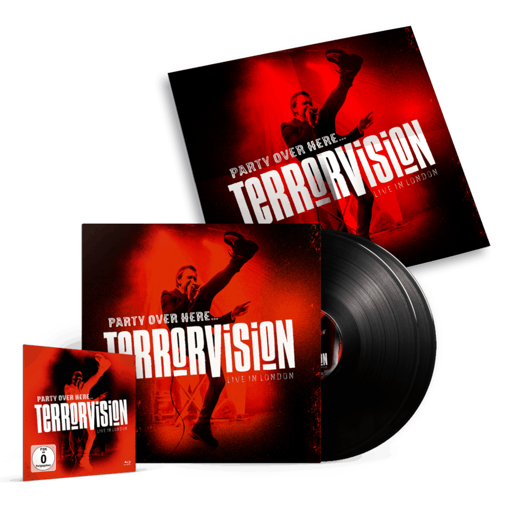 Buy Online Terrorvision - Party Over Here... Live In London (Inc Blu-Ray)