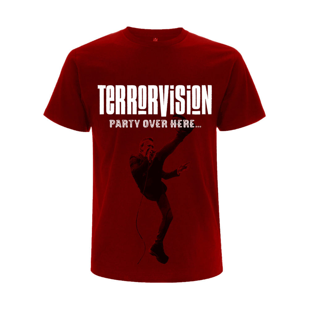 Buy Online Terrorvision - Party Over Here... Live In London T-Shirt 1