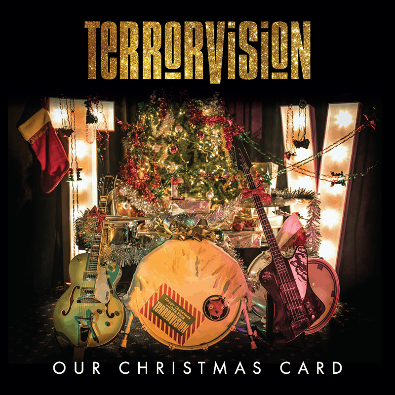 Buy Online Terrorvision - Signed Christmas Card