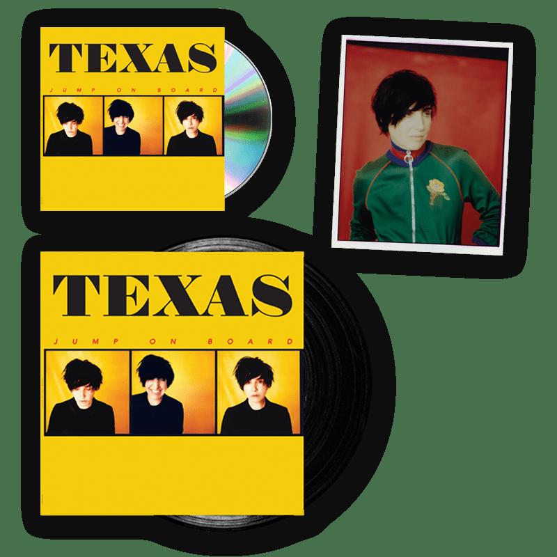 Buy Online Texas - Jump On Board CD + Vinyl LP + Signed Photograph