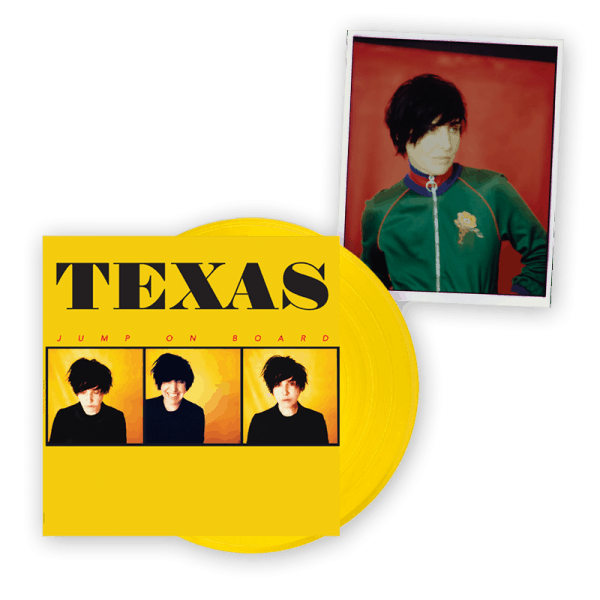 Buy Online Texas - Jump On Board Yellow Vinyl LP (Limited Edition) + Signed A4 Photograph