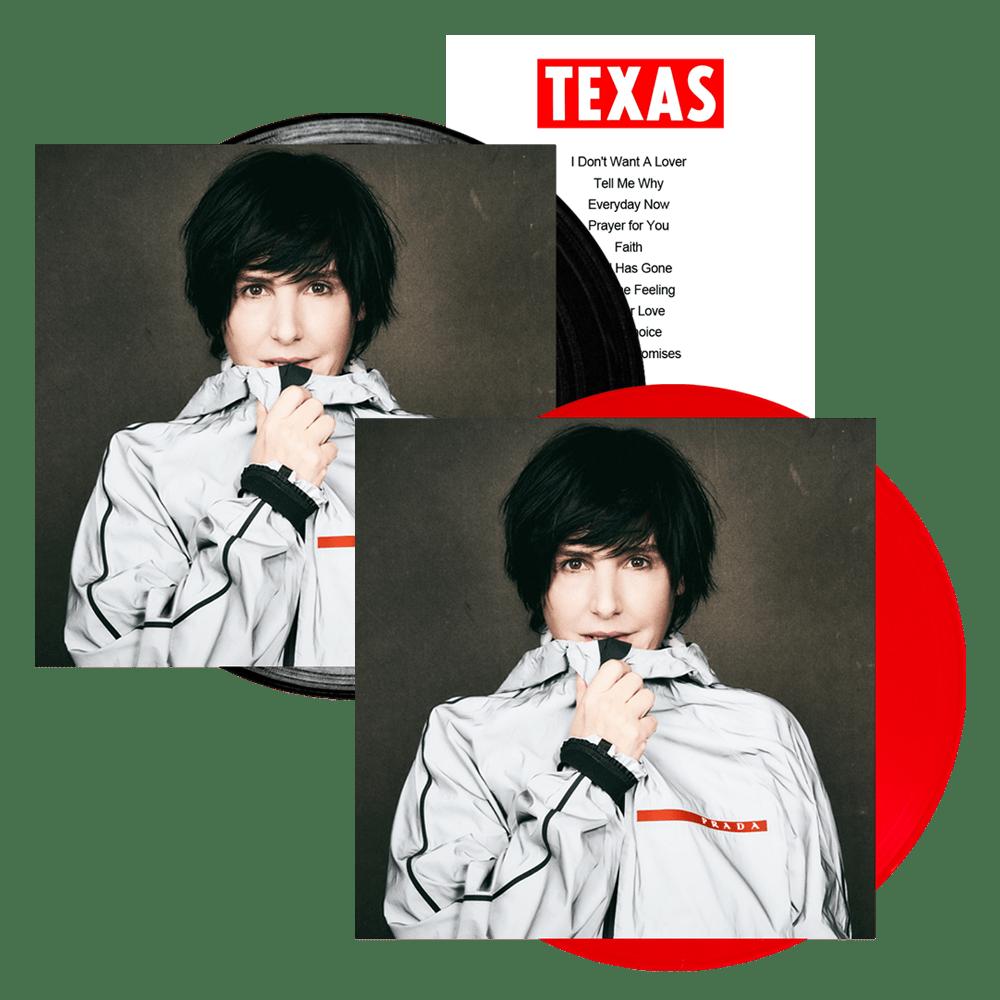 Buy Online Texas - Hi Coloured Vinyl + Black Vinyl + Set List (Signed)
