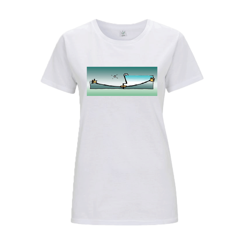 Buy Online The Beloved - White T 1 - Women Style