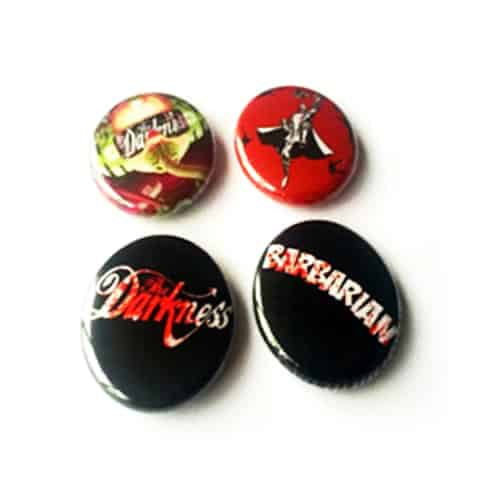 Buy Online The Darkness - 2015 Barbarian Badge Set Of 4 Badges