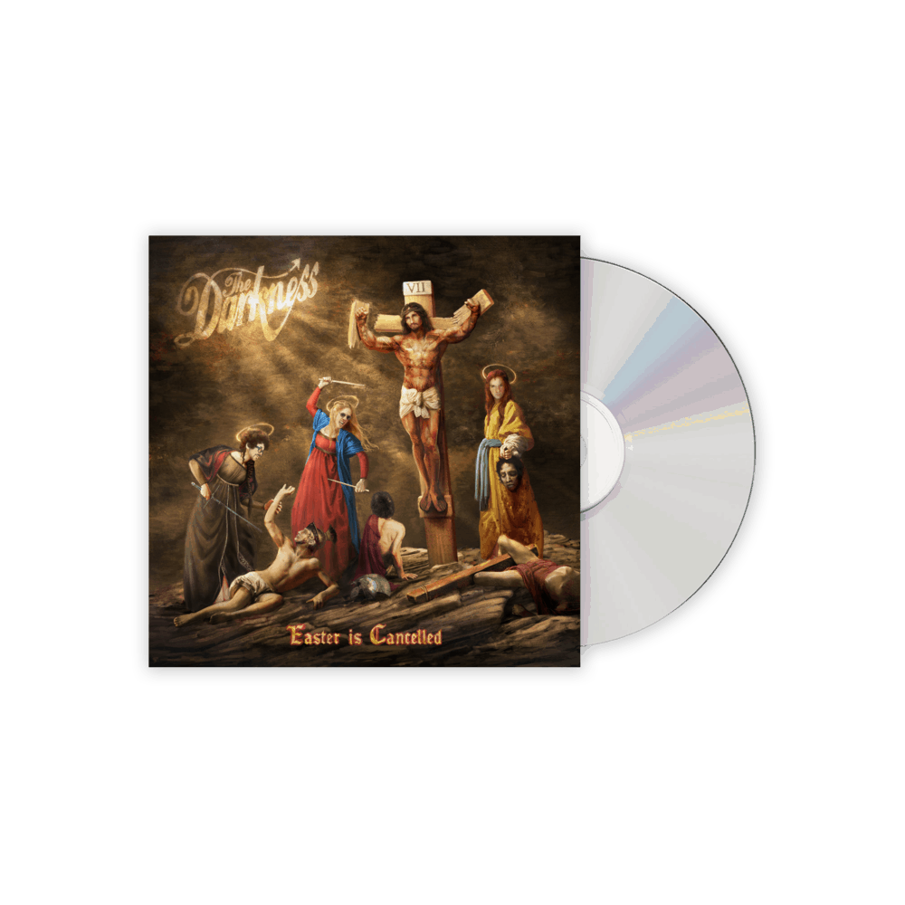 Buy Online The Darkness - Easter Is Cancelled Deluxe Digipack CD Inc. 4 Bonus Tracks