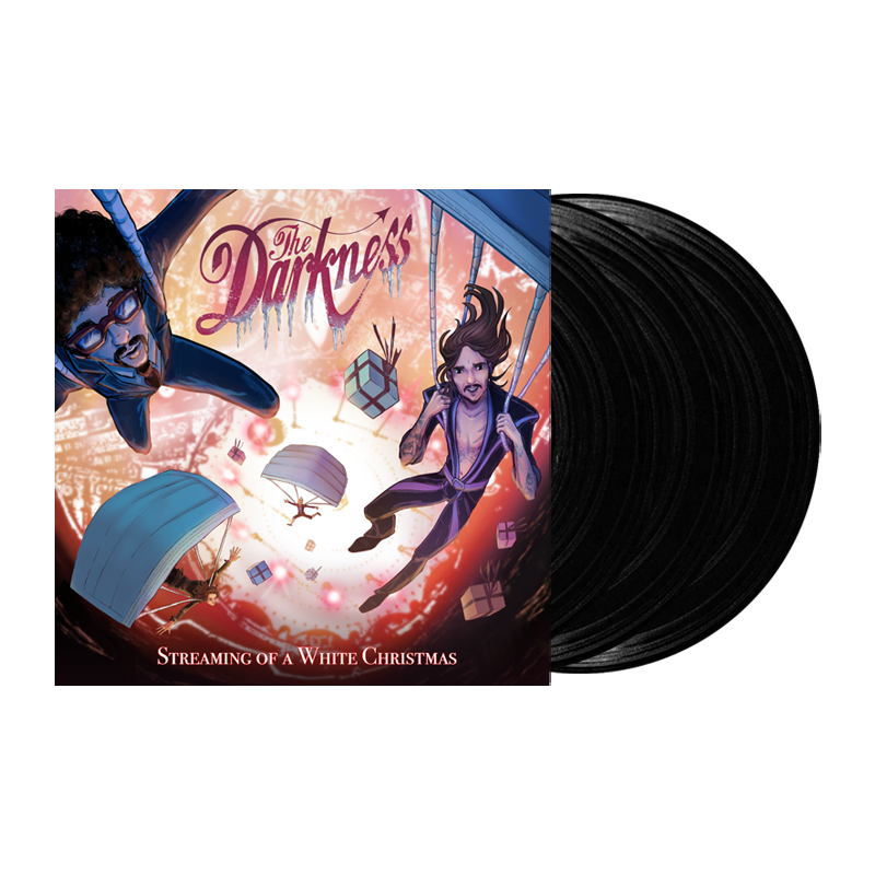 Buy Online The Darkness - Streaming Of A White Christmas Triple Vinyl
