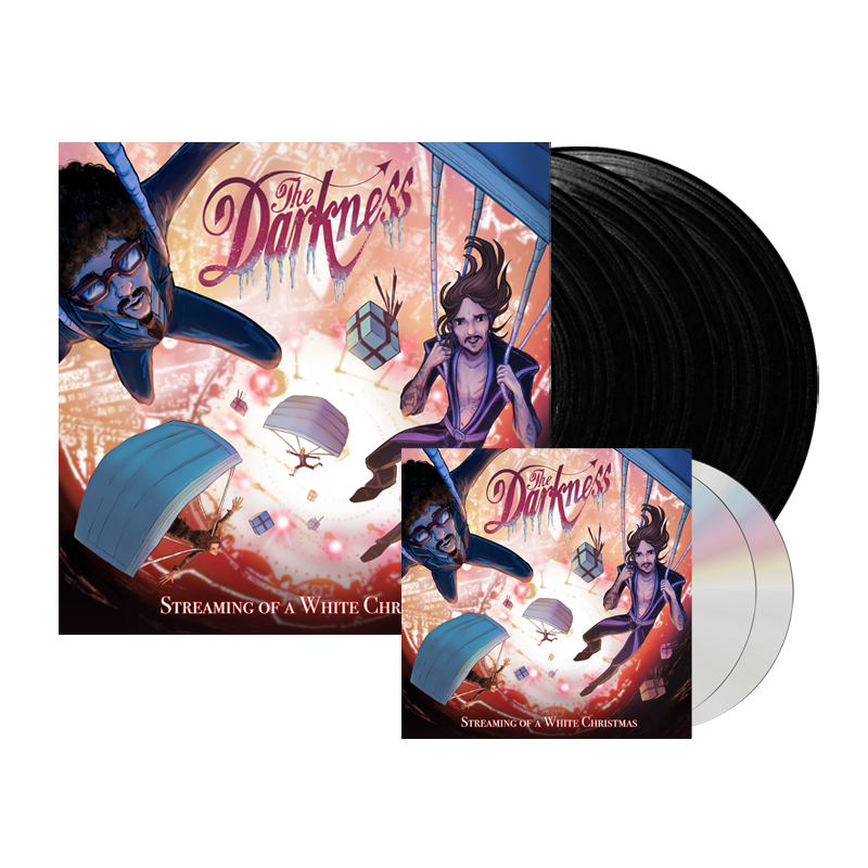 Buy Online The Darkness - Streaming Of A White Christmas 2CD + Triple Vinyl
