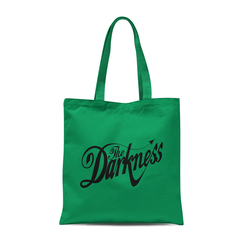 Buy Online The Darkness - Green Tote Bag