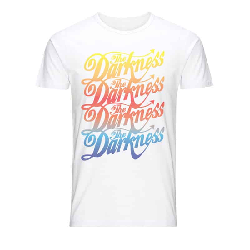 Buy Online The Darkness - Graduated Logo T-Shirt