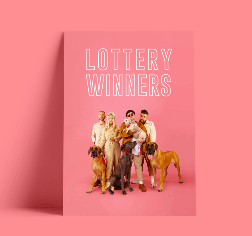 Buy Online The Lottery Winners  - A3 Poster