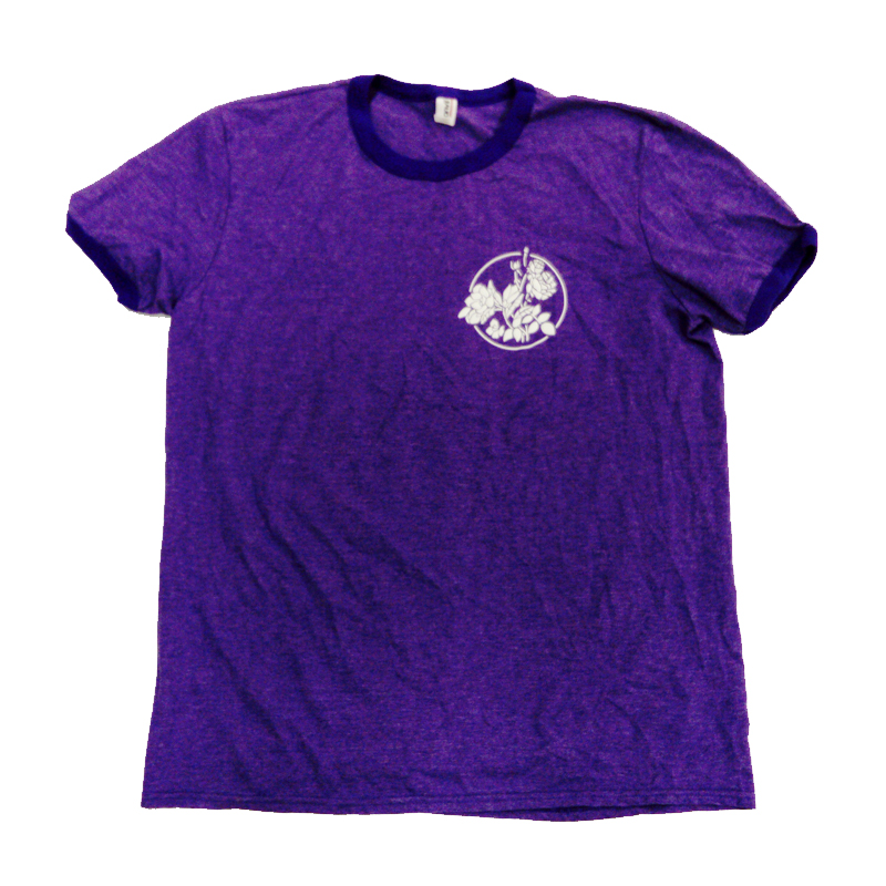 Buy Online The Maine - Purple Ringer T-Shirt