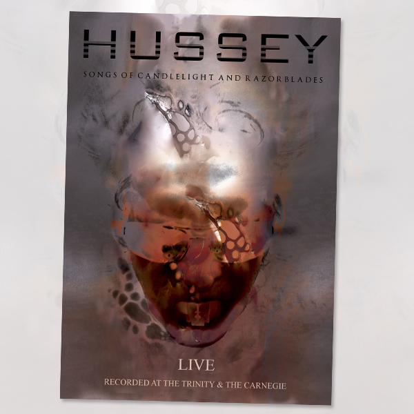 Buy Online Wayne Hussey - Songs Of Candlelight & Razorblades Live DVD x 2 + Bonus CD Set