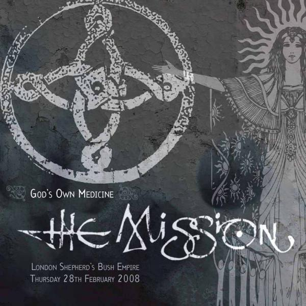 Buy Online The Mission - God's Own Medicine Live 2LP (Limited Edition Clear Vinyl)